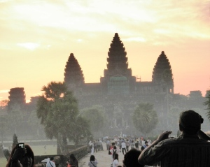 Angkor Wat at sunrise Siem Reap, Cambodia